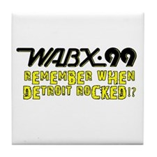 "WABX ""Remember"" Tile Coaster"
