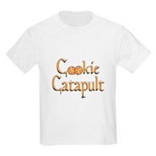 Cookie Catapult Kids T-Shirt