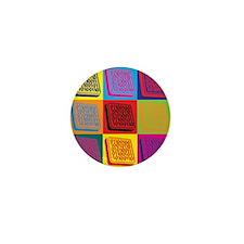 Programming Pop Art Mini Button