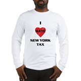 NY On line tax Sucks Long Sleeve T-Shirt