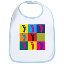 Podiatry Pop Art Bib