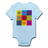 Physics Pop Art Infant Bodysuit