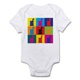 Pharmacology Pop Art Infant Bodysuit