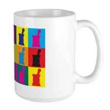 Pharmacology Pop Art Coffee Mug