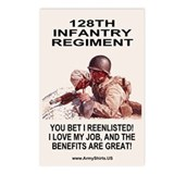 2-128th Infantry <BR>8 Postcards