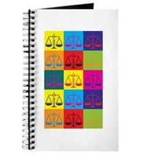 Paralegal Work Pop Art Journal