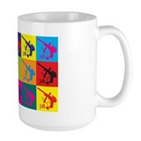 Paintball Pop Art Coffee Mug