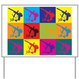 Paintball Pop Art Yard Sign