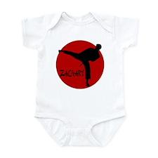 Zachary Martial Arts Infant Bodysuit