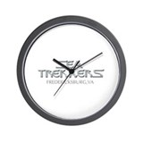 Cute Trekker Wall Clock