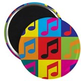 Orchestra Pop Art Magnet