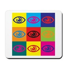 Optometry Pop Art Mousepad