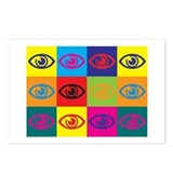 Optometry Pop Art Postcards (Package of 8)