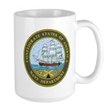 Confederate Navy Ceramic Mugs