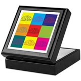 Neuroscience Pop Art Keepsake Box