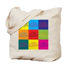 Neuroscience Pop Art Tote Bag