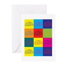 Neuroscience Pop Art Greeting Cards (Pk of 10)