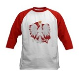 Poland White Eagle Design Tee