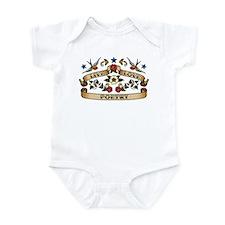 Live Love Poetry Infant Bodysuit