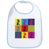 Metal Working Pop Art Bib