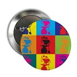 "Metal Working Pop Art 2.25"" Button"