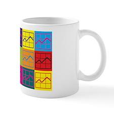 MBA-ing Pop Art Small Mug