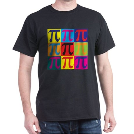 Math Pop Art Dark T-Shirt