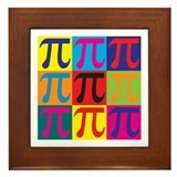 Math Pop Art Framed Tile