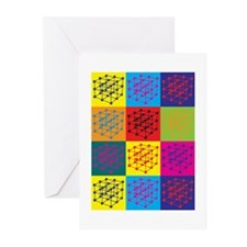 Materials Science Pop Art Greeting Cards (Pk of 20
