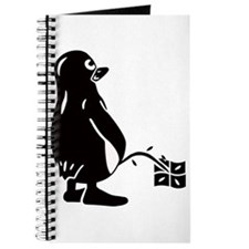 Funny Tux penguin Journal