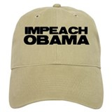 Impeach Obama Baseball Cap