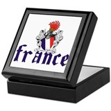 France Shield Keepsake Box