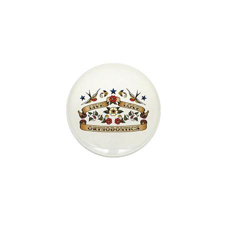Live Love Orthodontics Mini Button (100 pack)