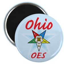 "Ohio Eastern Star 2.25"" Magnet (10 pack)"