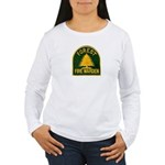 Fire Warden Women's Long Sleeve T-Shirt