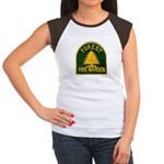 Fire Warden Women's Cap Sleeve T-Shirt