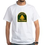 Fire Warden White T-Shirt