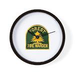 Fire Warden Wall Clock