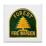 Fire Warden Tile Coaster