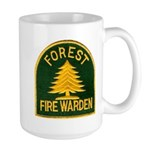 Fire Warden Large Mug