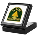 Fire Warden Keepsake Box