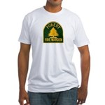 Fire Warden Fitted T-Shirt