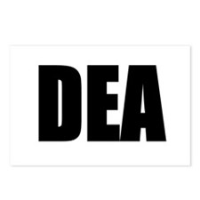 DEA Postcards (Package of 8)