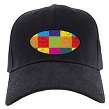 Lunchboxes Pop Art Baseball Hat