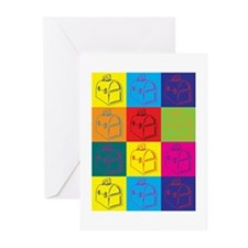 Lunchboxes Pop Art Greeting Cards (Pk of 10)