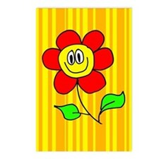 Smiling Flower Postcards (Package of 8)