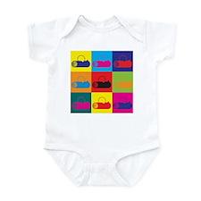 Logging Pop Art Infant Bodysuit