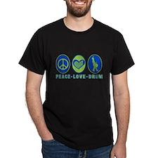 PEACE - LOVE - DRUM T-Shirt