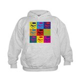 Library Work Pop Art Hoodie