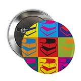 "Library Work Pop Art 2.25"" Button (10 pack)"
